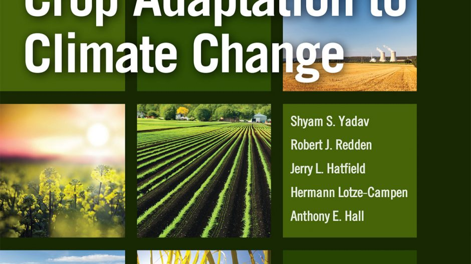 Book cover: Crop Adaptation to Climate Change